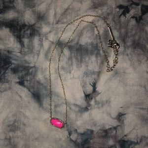 "Magenta Kendra Scott ""Elisa"" Necklace"